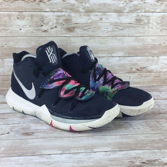Nike Kyrie 5 Galaxy Multicolor Mens 9.5